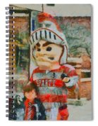 Lima Senior Mascot Spiral Notebook