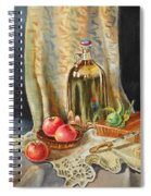 Lime And Apples Still Life Spiral Notebook
