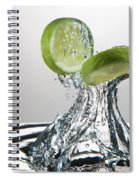 Lime Freshsplash Spiral Notebook