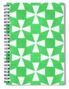Lime Twirl Spiral Notebook
