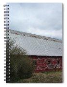 Limestone County Red Barn Spiral Notebook