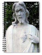 Limestone Jesus Spiral Notebook