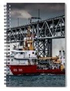Limnos Coast Guard Canada Spiral Notebook