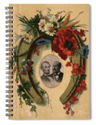 Lincoln And Garfield Spiral Notebook