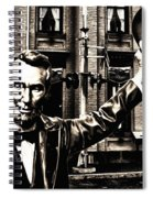 Lincoln Arriving At Gettysburg Spiral Notebook