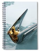 Lincoln Capri Hood Ornament Spiral Notebook