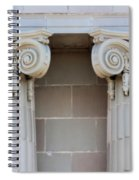 Lincoln County Courthouse Columns Spiral Notebook