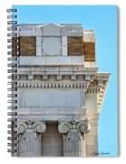 Lincoln County Courthouse Corner Spiral Notebook