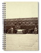 Lincoln Funeral Car, 1865 Spiral Notebook