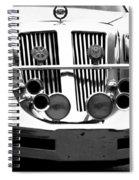 Lincoln Horns Spiral Notebook