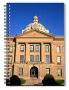 Lincoln Illinois - Courthouse Spiral Notebook