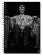 Lincoln In Solitude Spiral Notebook
