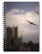 Lincoln Lancs Spiral Notebook
