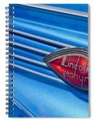 Lincoln Zephyr Spiral Notebook
