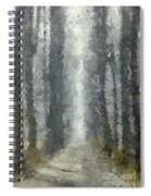 Linden Alley Spiral Notebook