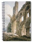 Lindisfarne Abbey Spiral Notebook