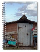 Lindisfarne Boat House Holy Island Spiral Notebook