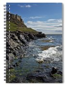 Lindisfarne Castle Spiral Notebook