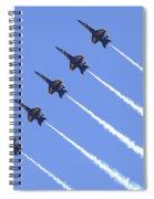 Line Abreast Pass Spiral Notebook