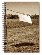 Line Dance 1 Spiral Notebook