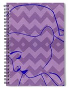 Line Drawing Spiral Notebook