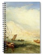 Line Fishing - Off Hastings Spiral Notebook