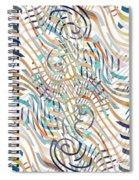 Line Movement Spiral Notebook