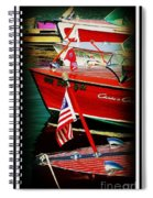Line Up Spiral Notebook