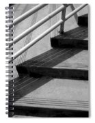Linear In Four Four Time Spiral Notebook