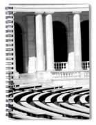 Lines And Curves Spiral Notebook