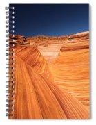 Lines In Sandstone Spiral Notebook