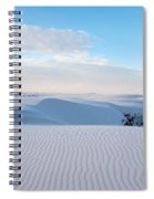 Lines In The Sand Spiral Notebook