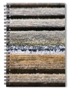 Lines Of Ice Spiral Notebook