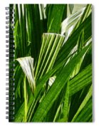 Lines Of Nature Spiral Notebook