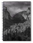 Lingering Shadows In Grey Spiral Notebook