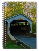 Linton Stevens Covered Bridge Spiral Notebook