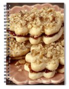 Linzer Cookies Spiral Notebook