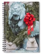 Lion In Winter Spiral Notebook