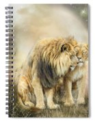Lion Kiss Spiral Notebook