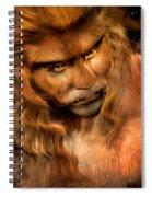 Lion Man Spiral Notebook