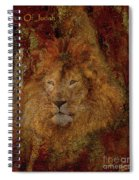 Lion Of Judah Spiral Notebook