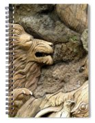 Lion On The Tree Of  Life Spiral Notebook