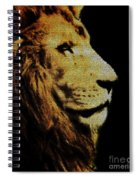 Lion Paint Spiral Notebook