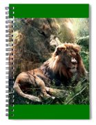 Lion Spirit Spiral Notebook