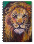 Lion Stare Spiral Notebook