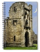 Lion Tower Spiral Notebook