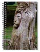 Lion Tree Spiral Notebook