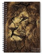 Lion -wall Art Spiral Notebook