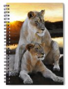 Lioness Protector Spiral Notebook