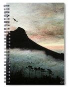 Lion's Head Cape Town Spiral Notebook